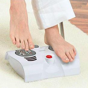 Người cao huyết áp dùng máy massage chân được không