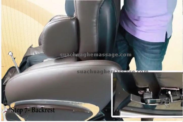 Sửa ghế massage ở quận Tân Phú