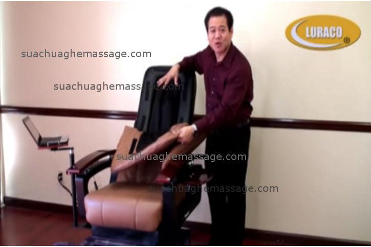 Sửa ghế massage Luraco