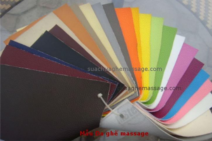 Bọc da ghế massage Poongsan