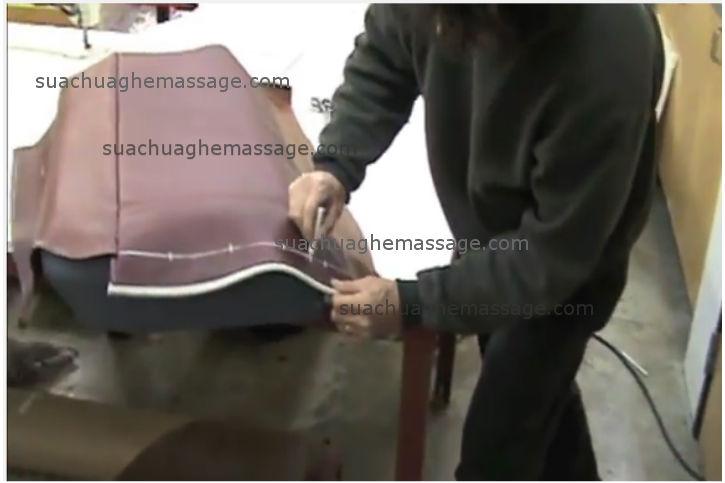 Bọc da ghế massage OKIA