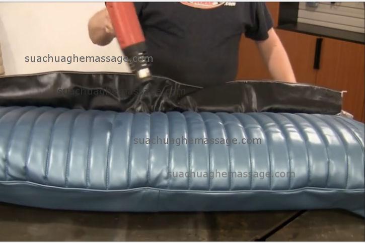 Bọc da ghế massage Luraco