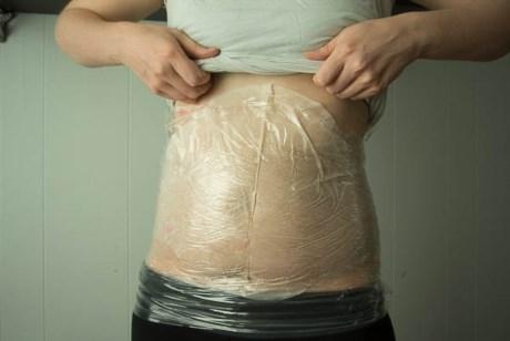 Cách giảm mở bụng hiệu quả bằng túi ni lông tại nhà