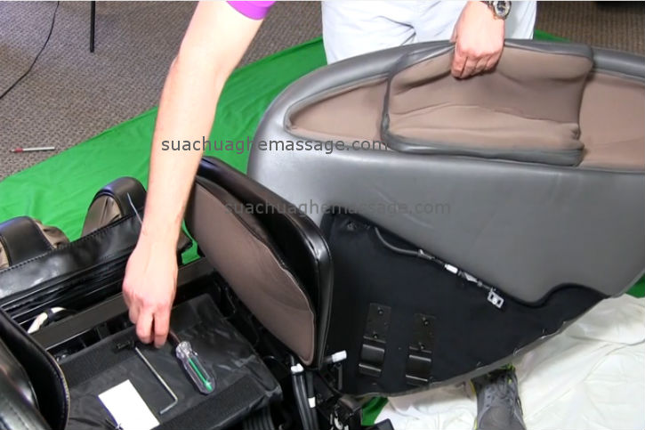 3 bước tự tháo lắp ghế massage tại nhà