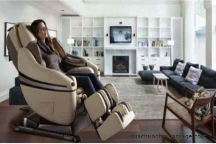 Một số lỗi thường gặp khi sử dụng ghế massage tại nhà