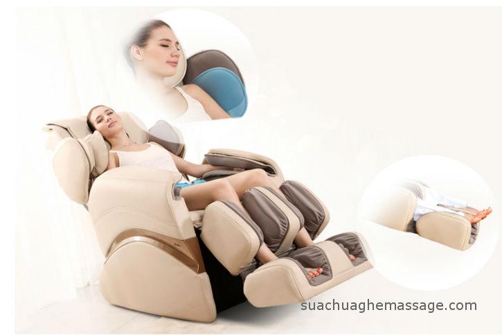 Những cảm giác thường gặp của người mới sử dụng ghế massage