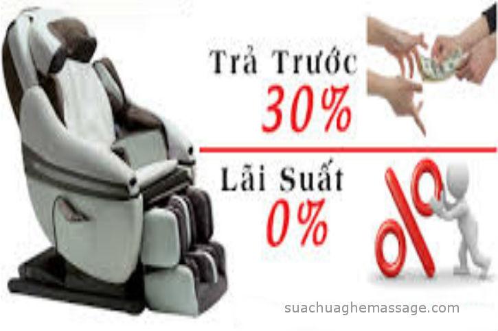 Thật hư chuyện mua ghế massage toàn thân trả góp giá rẻ