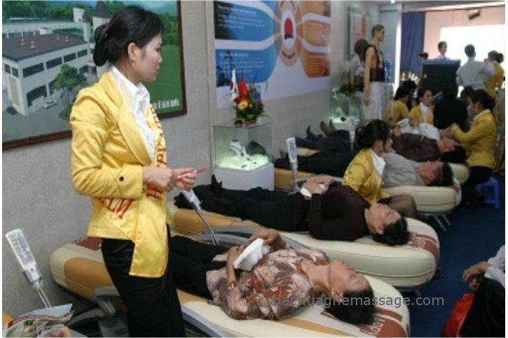 Trò lừa giường massage chữa bách bệnh tái diễn ở vùng quê