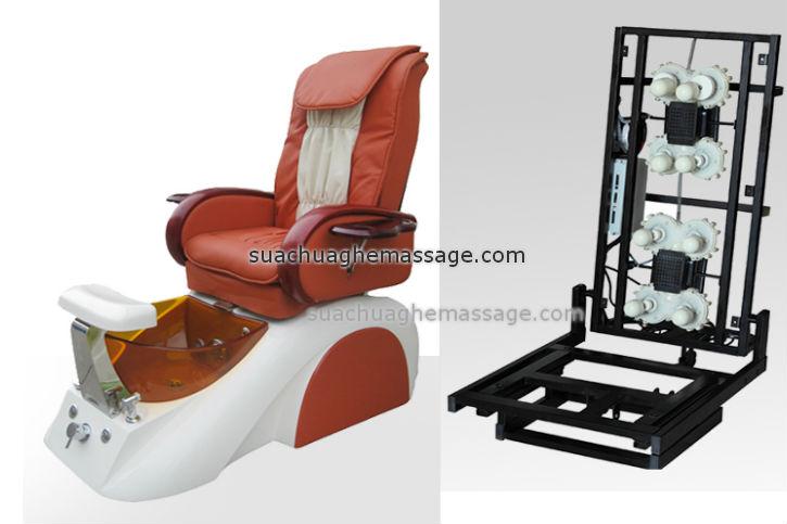 Sửa chữa ghế massage spa Pedicure uy tín giá rẻ
