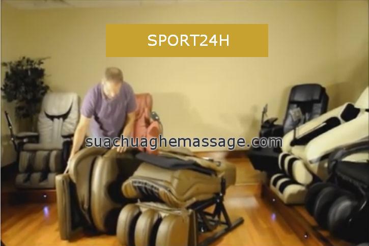 Sửa ghế massage tại các Tỉnh và Thành phố phía Nam
