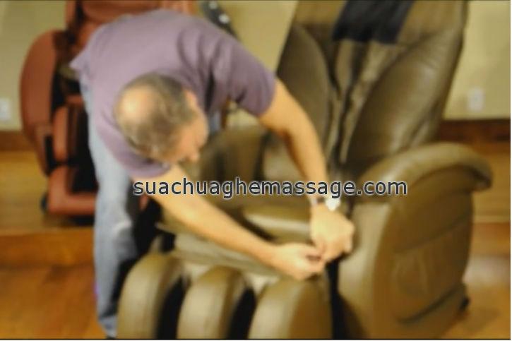 Sửa ghế massage tại nhà ở Bến Tre