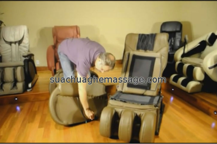 Sửa ghế massage tại nhà ở Tp Cần Thơ