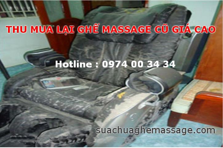 Mua bán ghế massage cũ theo yêu cầu tại Hà Nội