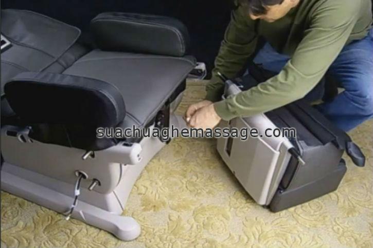Dịch vụ sửa chữa ghế massage tại nhà ở Củ Chi