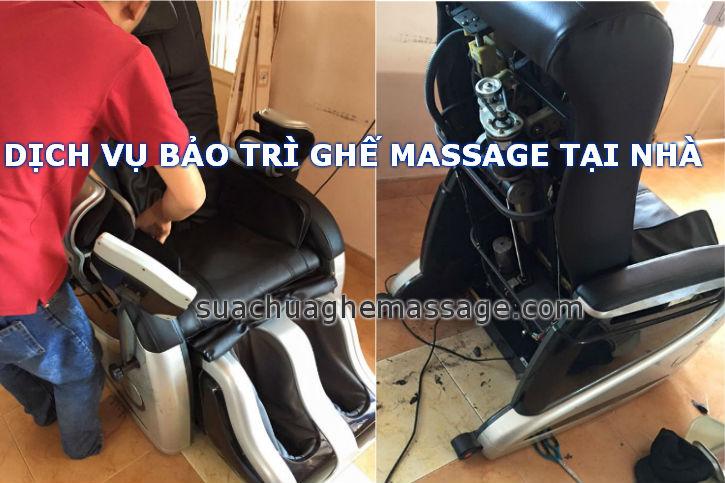 Ghế massage tại sao nên bảo trì 6 tháng một lần là tốt nhất