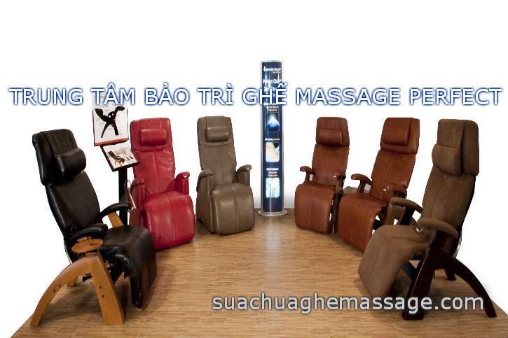 Trung tâm bảo trì ghế massage PERFECT