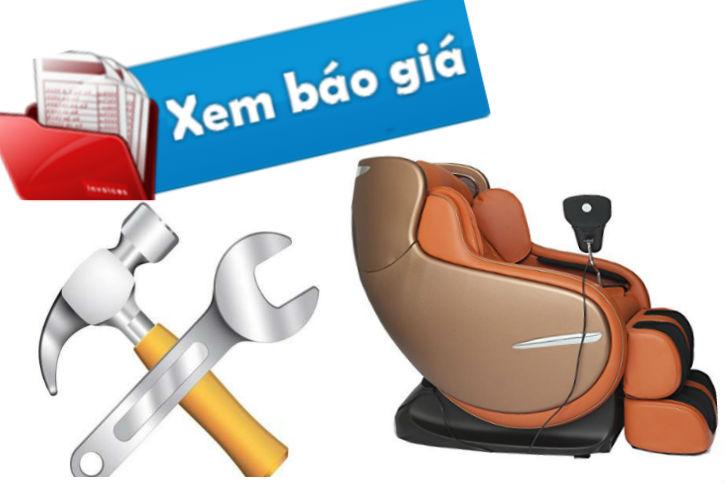 Báo giá thay sửa ghế massage tại nhà