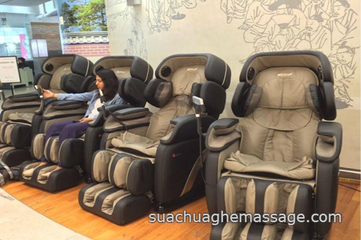 Sử dụng ghế massage bao nhiêu phút một ngày thì tốt nhất