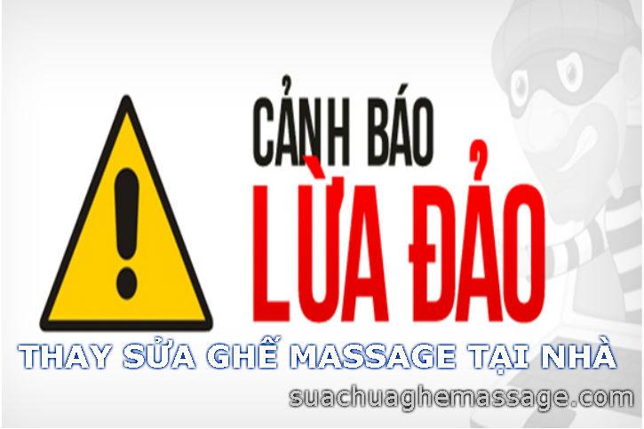 Sửa ghế massage ở Tp HCM khách hàng đang bi lừa gạt vi sao