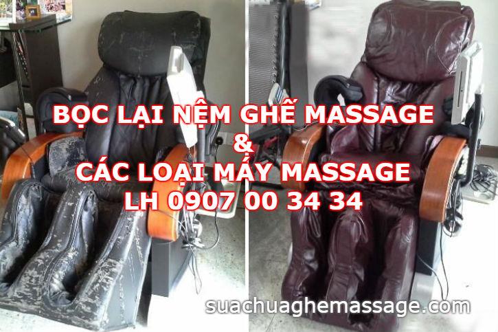 Bọc nệm ghế massage ở đâu giá rẻ