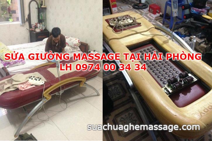 Sửa giường massage tại Hải Phòng