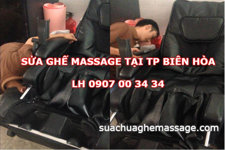 Sửa ghế massage tại TP Biên Hòa