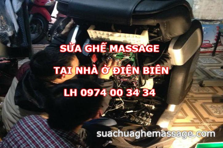 Sửa ghế massage tại nhà ở Điện Biên