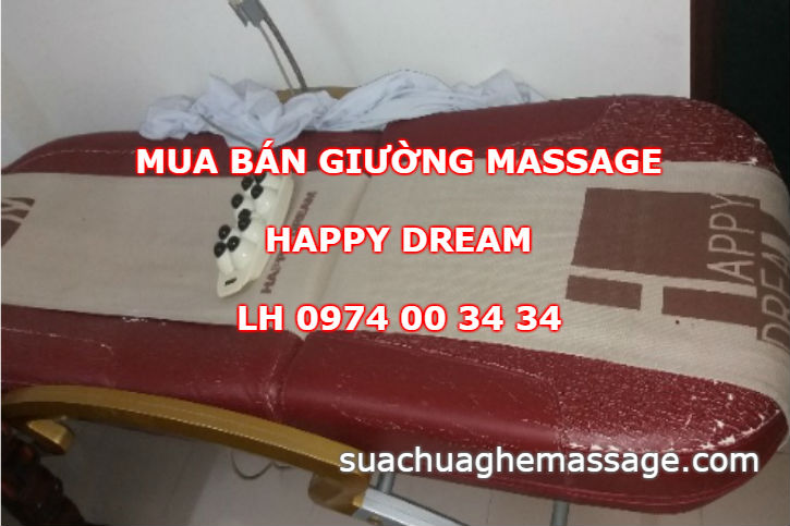Mua bán giường massage Happy Dream