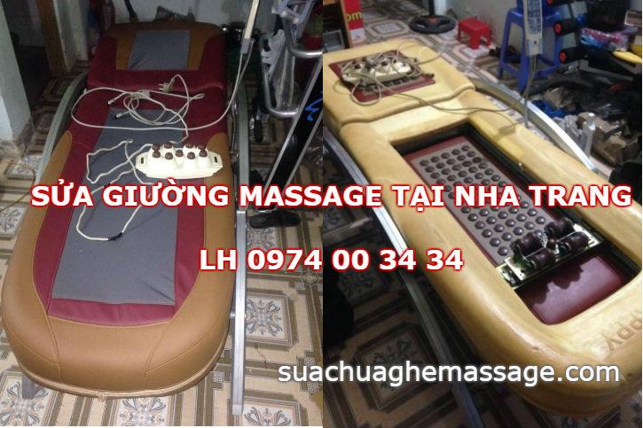 Sửa giường massage tại Nha Trang