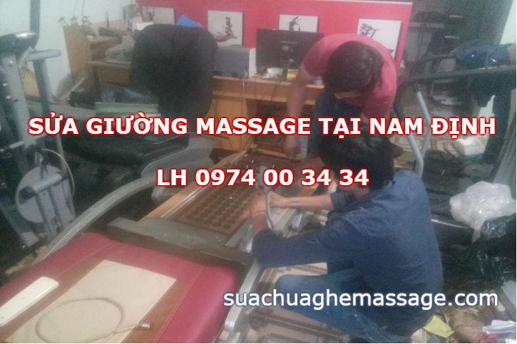 Sửa giường massage tại Nam Định