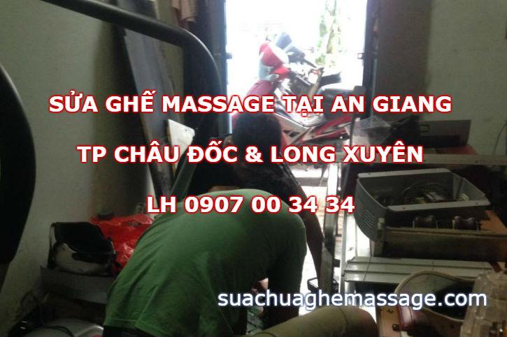 Sửa ghế massage tại An Giang