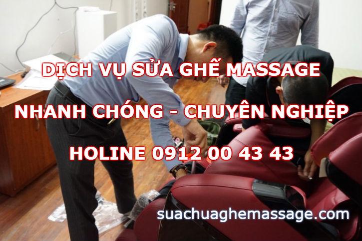 Sửa ghế massage các công ty bán tại sao phải thuê chúng tôi