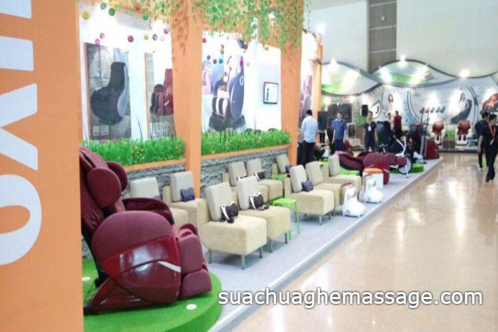 Thực hư ghế massage thương hiệu của Nhật Bản và Hàn Quốc