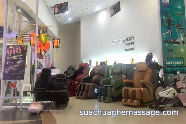 Ghế massage Hàn Quốc Nhật Bản thực chất là của Trung Quốc