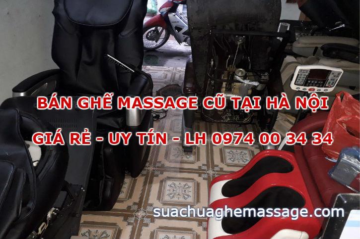 Bán ghế massage cũ Hà Nội