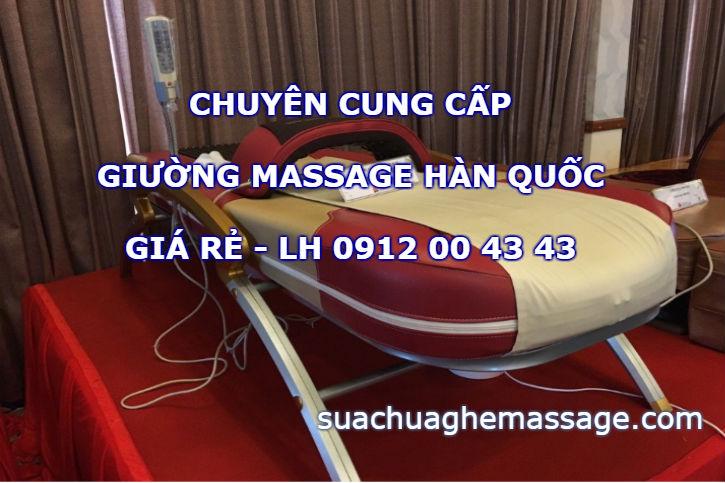 Giá bán giường massage Hà Quốc