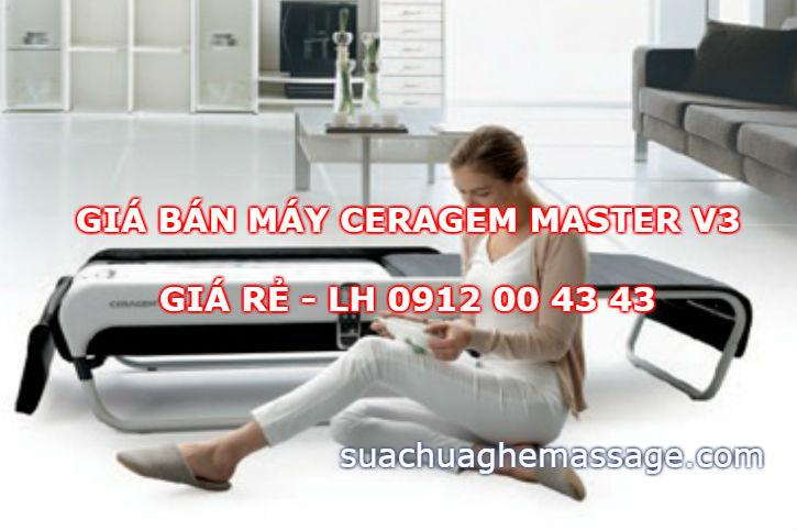 Giá bán máy Ceragem Master V3