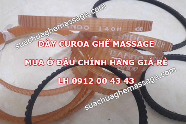 Dây curoa ghế massage