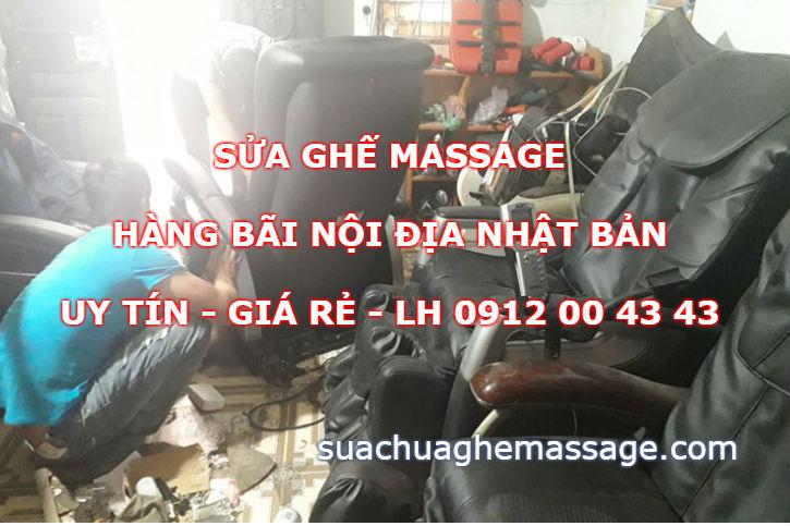 Sửa ghế massage hàng bãi nội địa Nhật Bản