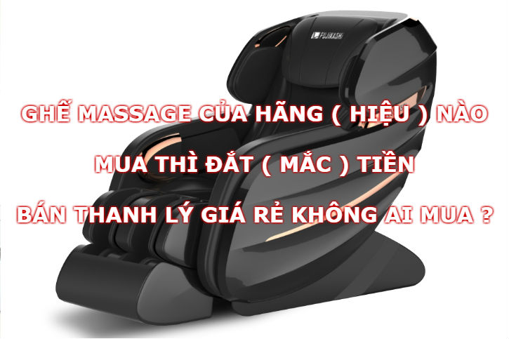 Ghế massage Kingsport Elip mua đắt thanh lý lại rẻ
