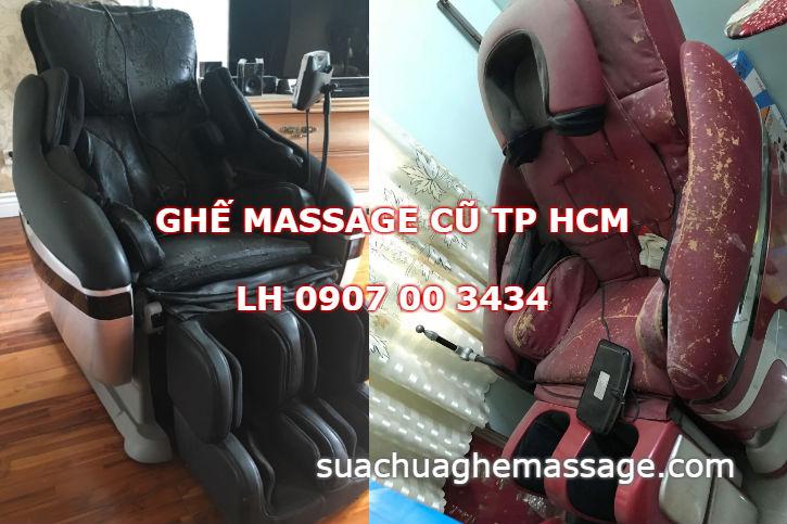 Ghế massage cũ tphcm