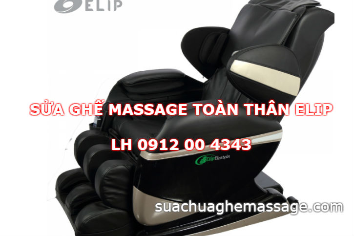 Sửa ghế massage toàn thân Elip