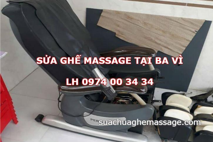 Sửa ghế massage tại nhà ở Huyện Ba Vì