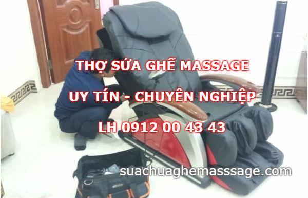 Thợ sửa ghế massage