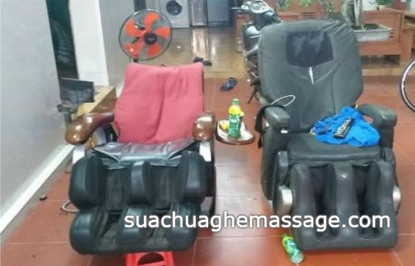 Hải Phòng ghế massage nội địa hỏng la liệt không có thợ sửa