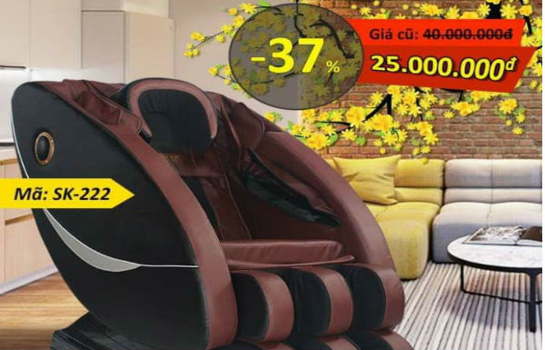 Ghế massage không còn là sản phẩm cho người giàu vì sao