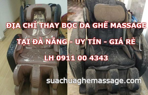 Địa chỉ thay da ghế massage tại Đà Nẵng