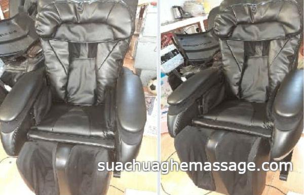 Ghế massage hàng nội địa tại sao ít thợ nhận thay sửa