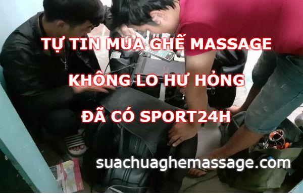 Tự tin mua ghế massage sử dụng tại nhà không lo bị hỏng