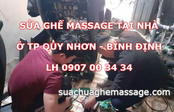 Sửa ghế massage tại TP Quy Nhơn Bình Định